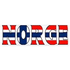 Norway Bumper Bumper Sticker