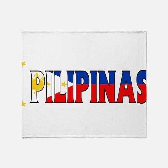 Phillipines Throw Blanket