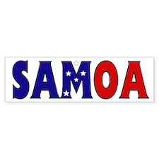 Samoa Bumper Bumper Sticker
