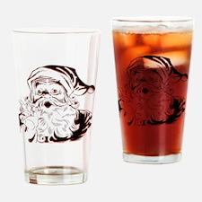 Classic Santa Drinking Glass