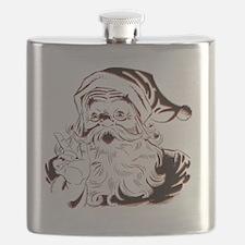 Classic Santa Flask