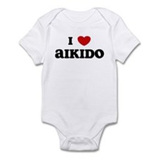 I Love Aikido Infant Bodysuit