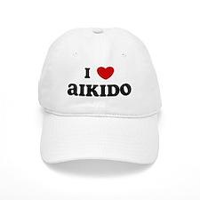 I Love Aikido Baseball Cap