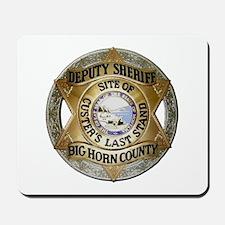 Big Horn County Sheriff Mousepad
