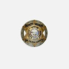 Big Horn County Sheriff Mini Button