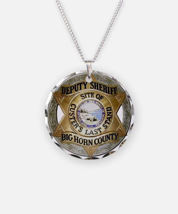Big Horn County Sheriff Necklace