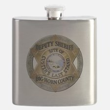 Big Horn County Sheriff Flask