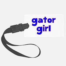 Gator Girl Luggage Tag