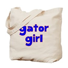 Gator Girl Tote Bag