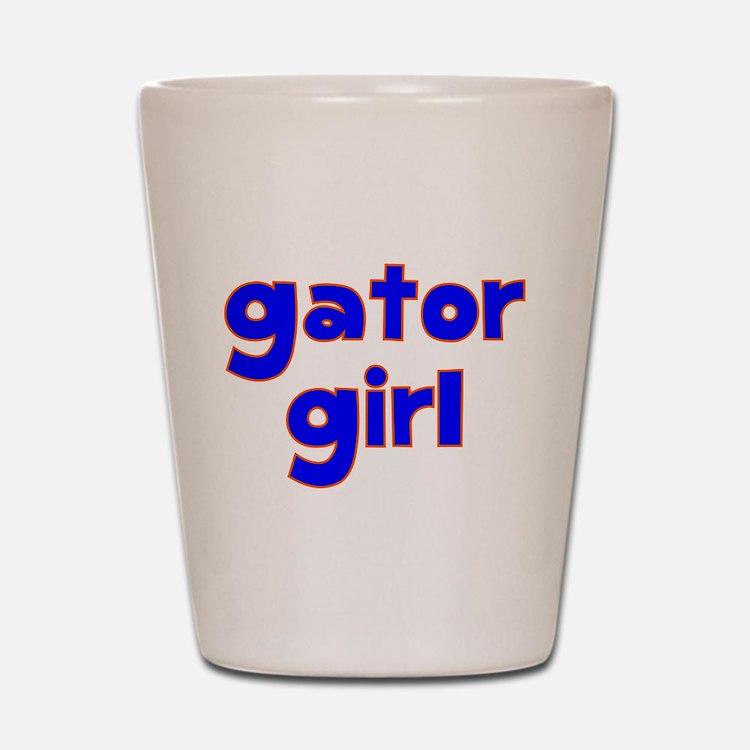 Gator Girl Shot Glass
