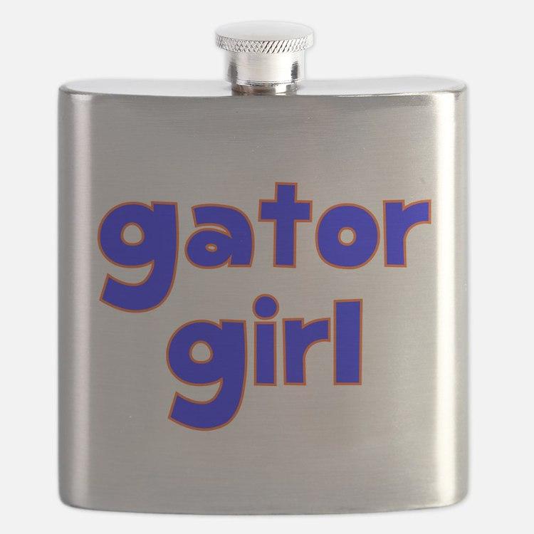 Gator Girl Flask