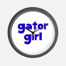 Gator Girl Wall Clock