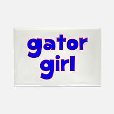 Gator Girl Rectangle Magnet