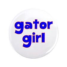 """Gator Girl 3.5"""" Button"""