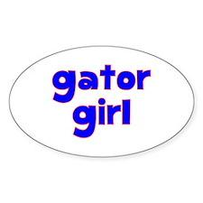 Gator Girl Decal