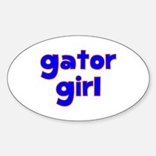 Gator Girl Decal