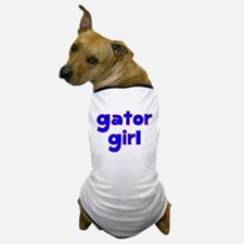 Gator Girl Dog T-Shirt