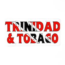 Trinidad Tobago Aluminum License Plate