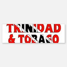 Trinidad Tobago Bumper Bumper Bumper Sticker