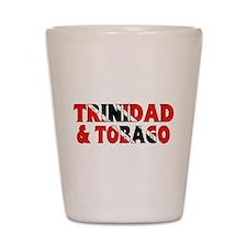 Trinidad Tobago Shot Glass