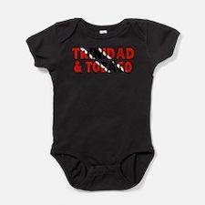 Trinidad Tobago Baby Bodysuit