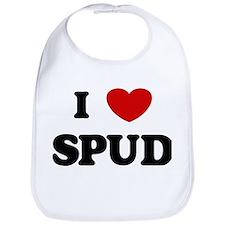 I Love Spud Bib