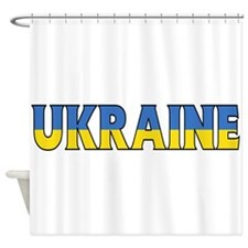 Ukraine Shower Curtain