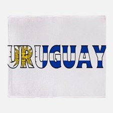 Uruguay Throw Blanket