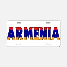 Armenia Aluminum License Plate