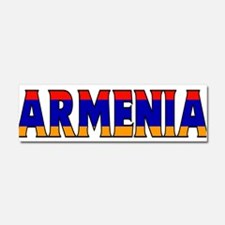 Armenia Car Magnet 10 x 3
