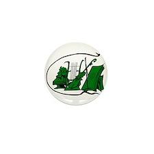 bust green lyre violin sheet music design Mini But
