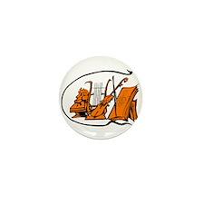 bust orange lyre violin sheet music design Mini Bu
