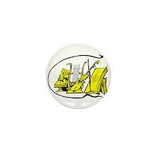 bust yellow lyre violin sheet music design Mini Bu