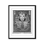 Tutankhamen Framed Panel Print