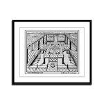 The Lobby Framed Panel Print