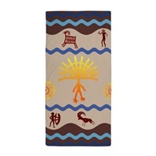 Spirit Path Rock Art Beach Towel