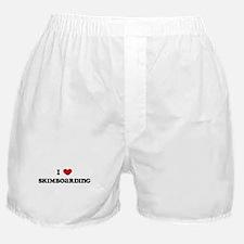 I Love Skimboarding Boxer Shorts