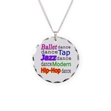 Dance Styles #1 Necklace