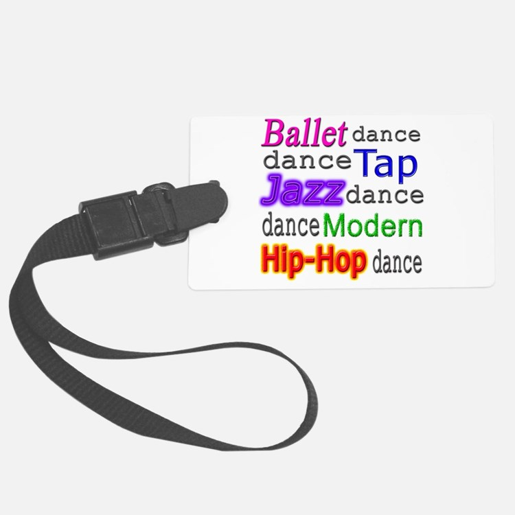 Dance Styles #1 Luggage Tag