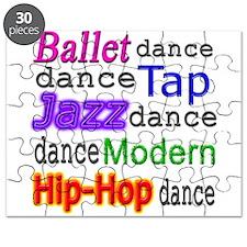 Dance Styles #1 Puzzle