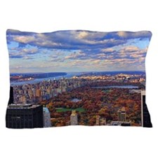 Central Park, A view from above Pillow Case