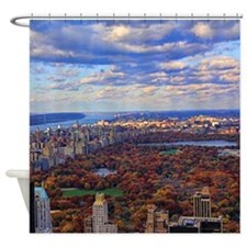 Central Park, A view from above Shower Curtain