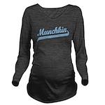 munchkin_b.png Long Sleeve Maternity T-Shirt