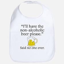 Said No One Ever: Non-Alcoholic Beer Bib