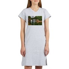 Lower Falls Lewis River Women's Nightshirt