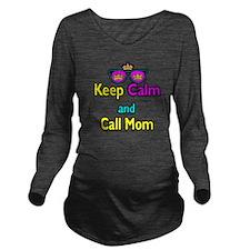 Crown Sunglasses Keep Calm And Call Mom Long Sleev
