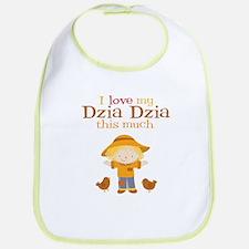 Scarecrow I Love Dzia Dzia Bib
