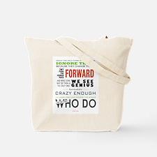 Unique Steve jobs Tote Bag