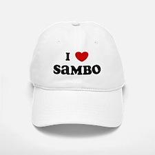 I Love Sambo Baseball Baseball Cap