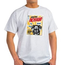 Amazing Dachshund Comics T-Shirt